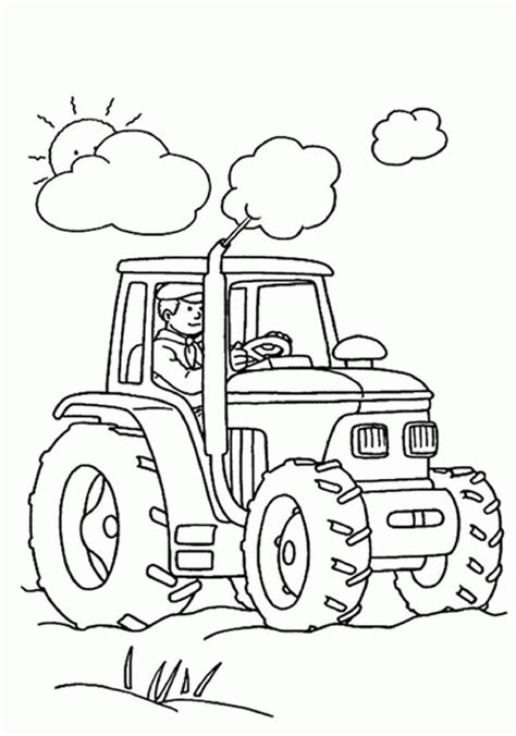 tractor coloring pages pdf tractor coloring pages c0lor 147824 john deere coloring