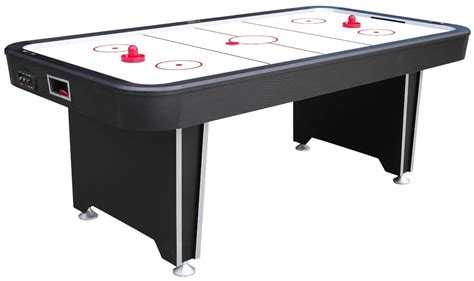 7 foot air hockey table liberty