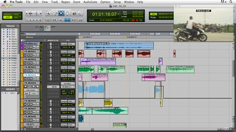 Audio For Film And Video With Pro Tools Pro Tools Recording Template