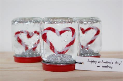 snow globe valentines 22 diy gift ideas for more on valentines days