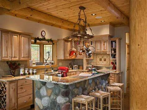 log cabin kitchen ideas cabin style apartment studio design gallery best