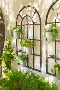 outdoor wall murals ideas birdies wall planter planters the shape and style