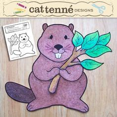 beaver crafts for kids ideas to make beavers with easy canadian art projects and activties on pinterest nova