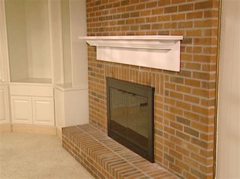 Diy Fireplace Mantels by How To Create A Fireplace Mantel How Tos Diy