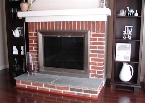 Re Brick Fireplace by Chateau 809 To Paint Or Not To Paint