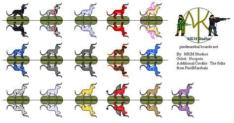 neopet colors neopets gelert colors weasyl