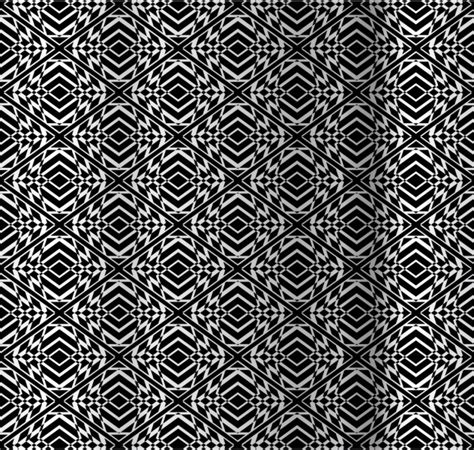 optical pattern ai diamond op art pattern vector free download