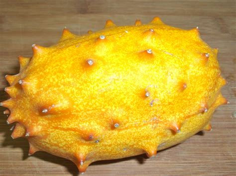 fruit exles spiky orange fruit