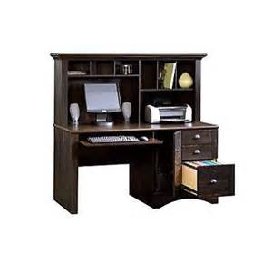 Black Computer Desk With Hutch Sauder Home Office Furniture Antique Black Computer Desk With Hutch 401634 Product Reviews
