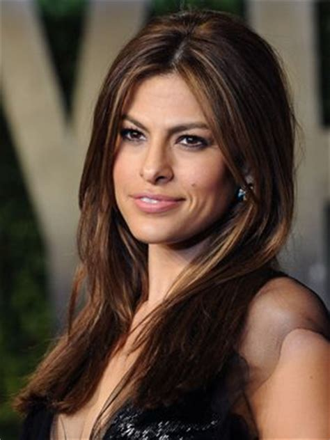 brunette actress hairstyles eva mendes icons and hairstyles on pinterest