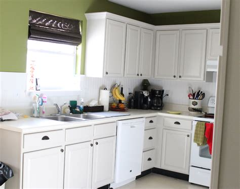 oak kitchen cabinets painted white painting oak cabinets thriving home