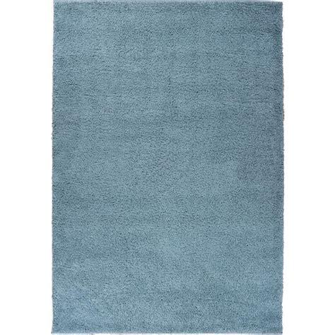 plain rug well woven shag plain light blue 3 ft 3 in x 5 ft 3 in modern solid area rug 7041