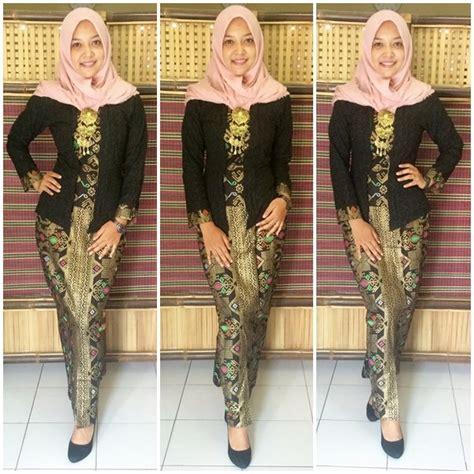 Stelan Rok Salina Fashion Gamismurah jual baju gamis batik modern setelan kutubaru gb115 hitam diskon di lapak butik murah jogja