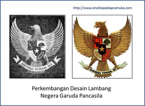 desain gambar garuda lambang negara garuda pancasila sejarah penciptaan