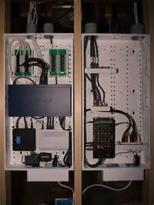 home network closet design whole house structured wiring networking set ups