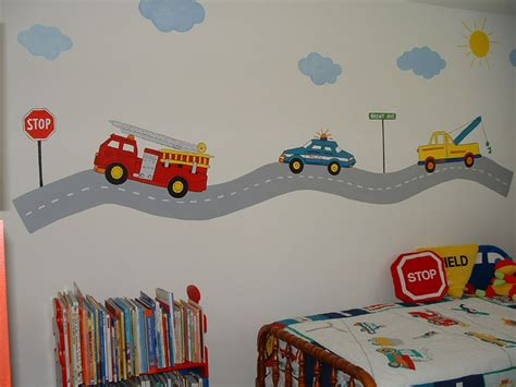 Wall Murals For Boys wall murals by colette transportation theme wall murals