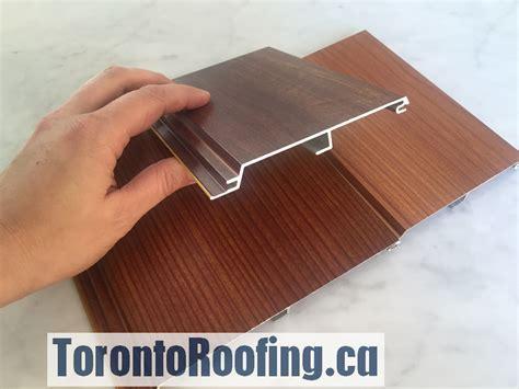longboard steel siding longboard soffit siding torontoroofing ca