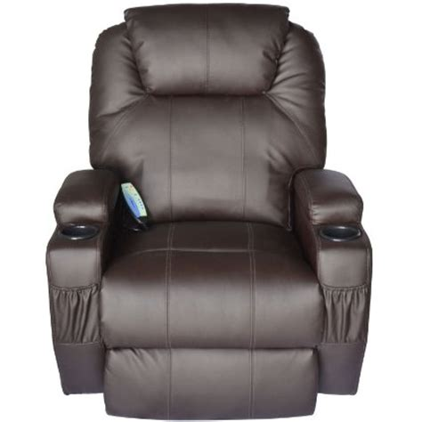Best Recliners Review by Homcom Deluxe Heated Vibrating Recliner Chair