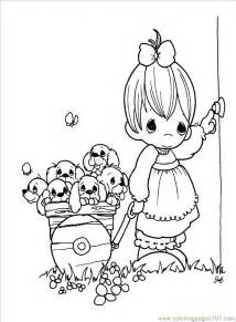 precious moments 1 20 printable coloring page for kids