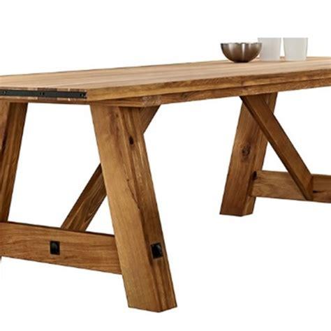 tavolo rettangolare legno tavolo rettangolare in legno massello di rovere 200 cm