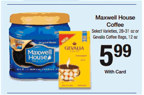 printable maxwell house coupons 2014 print save maxwell house coupon only 4 99 at kroger