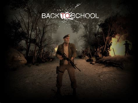 mod game left 4 dead 2 left 4 dead 2 back to school game mod weapon rifles