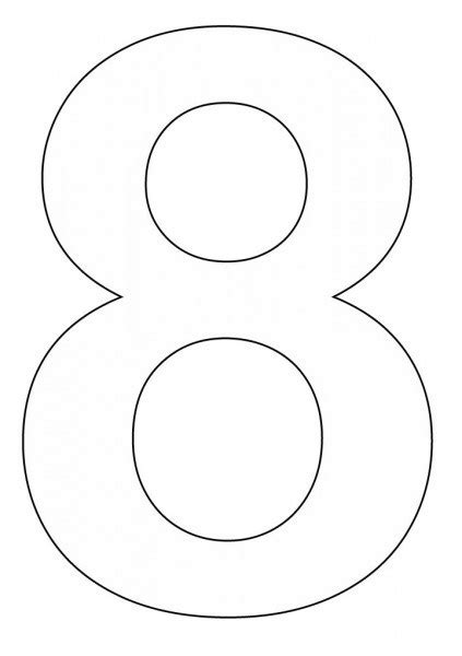 coloring pages for the number 8 coloring pages of number 8 coloring pages