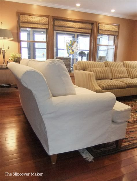 custom slipcovers for sofas the slipcover maker custom slipcovers tailored to fit