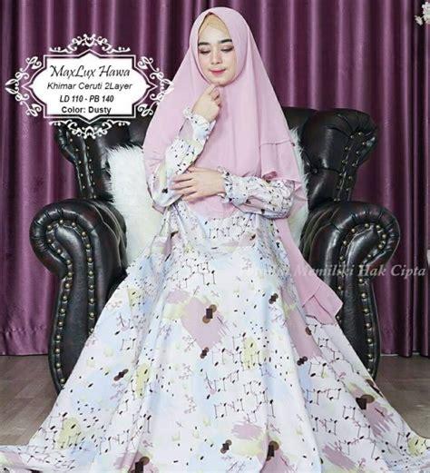 Gamis Syar I Shofiyah Hawa baju muslim maxlux hawa syari model gamis maxmara dewasa
