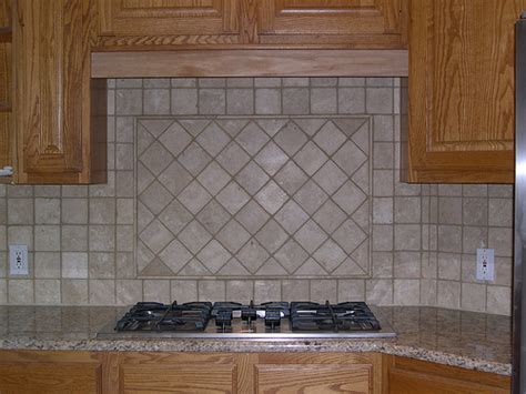 tumbled backsplash pictures travertine backsplash 4 quot tumbled travertine with cent flickr photo