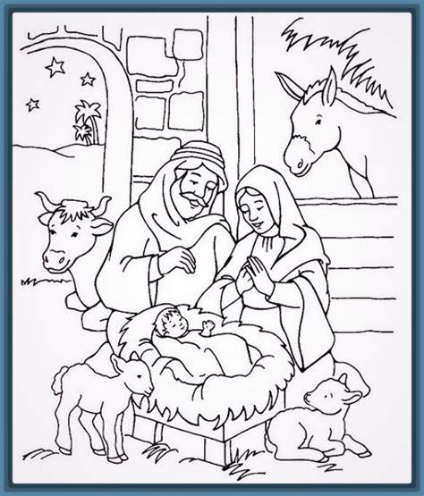 imagenes para dibujar nacimiento dibujos del nacimiento del ni 241 o jesus a color archivos