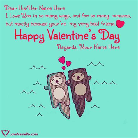 sweet quotes for valentines write name on teddy valentines quotes picture