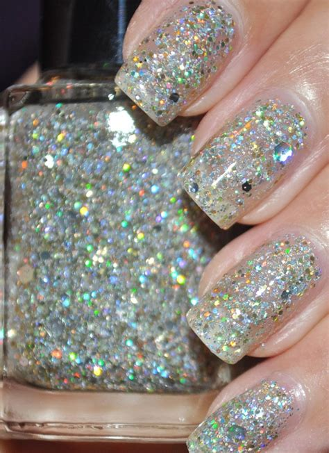 Glitter Nail Polishes by Mumbling Silver And Gold Glitter Nail 15ml 5oz