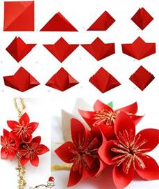 How To Make Simple Origami Flowers - 40 origami flowers you can do and design
