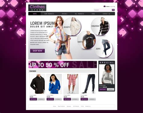 templates for website for online shopping shopping website template free ecommerce website