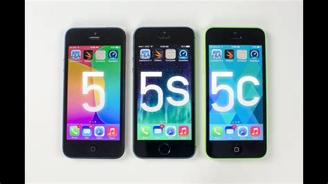 iphone 5s vs iphone 5c vs iphone 5 benchmark tests