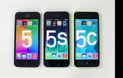 Image result for iphone 5 vs 5s vs 5c