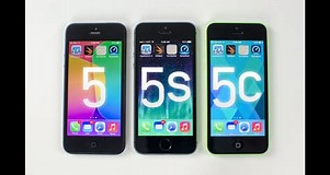 Image result for iPhone 5c vs 5s. Size: 301 x 160. Source: www.youtube.com
