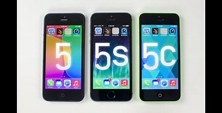 Image result for iPhone 5 vs iPhone 5C. Size: 314 x 160. Source: www.youtube.com