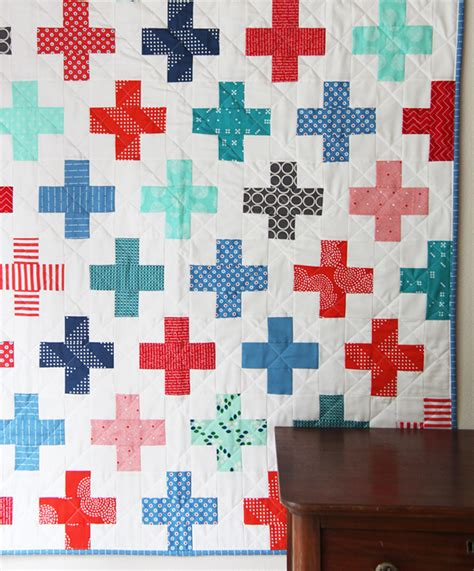 Quilts Plus by Plus Quilt In And Blue Cluck Cluck Sew