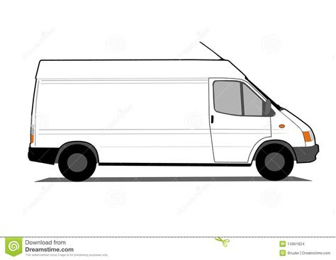 van layout vector delivery car isolated on white stock images image 14961824