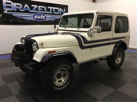 j6a93eh058273 1976 jeep cj 7 v8 quadra trac automatic