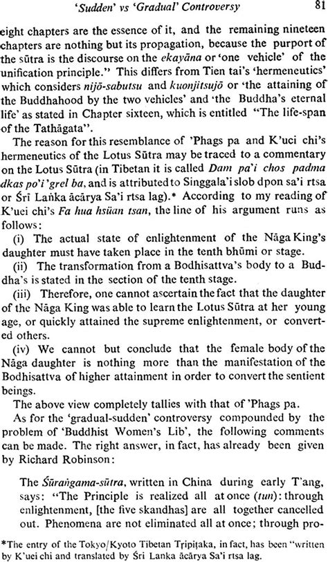 Facets Of Essay by Facets Of Buddhism