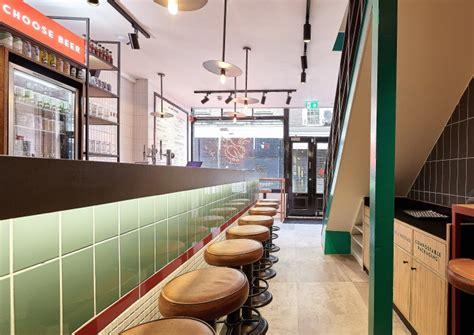 butchies restaurant  block design shoreditch london uk retail design blog