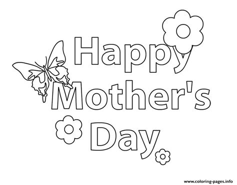 printable flowers mother s day happy mothers day message flower coloring pages printable