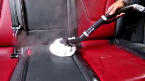 nettoyer siege voiture vapeur comment nettoyer les si 232 ges en cuir avec un nettoyeur