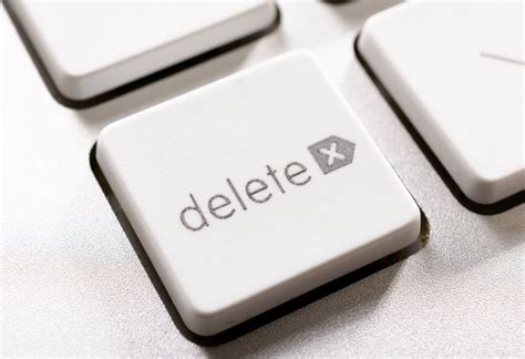 Delete Key Eraser by How To Delete A Page From Your Site The Seo Way