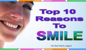 10 Reasons To Smile In by Relationships 6 9 S Window