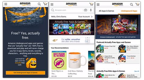 amazon underground apk amazon underground the new service for android with over