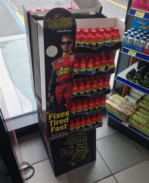 5 Hour Energy Shelf by Popon Image Gallery 5 Hour Energy Fixes Tired Fast Floor Display